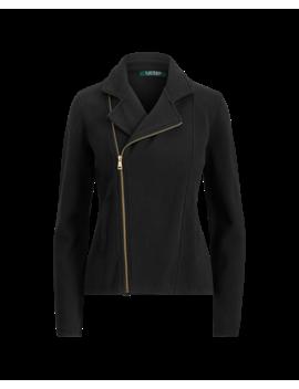 Cotton Blend Moto Jacket by Ralph Lauren