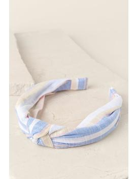 Madelyn Striped Headband by Francesca's