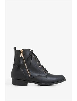 Walk Softly Combat Boot by A'gaci