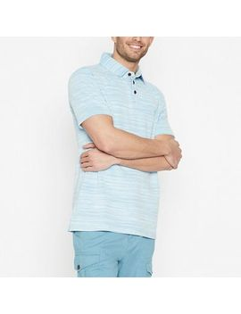 Mantaray   Big And Tall Blue Space Dye Polo Shirt by Mantaray