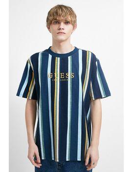 "Guess Originals – T Shirt ""Sayer"" In Blau by Guess Originals Shoppen"