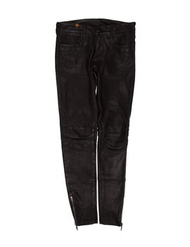 Leather Skinny Leg Pants by Notify