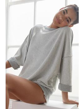 Out From Under Steffie Inside Out Oversized Sweatshirt by Out From Under