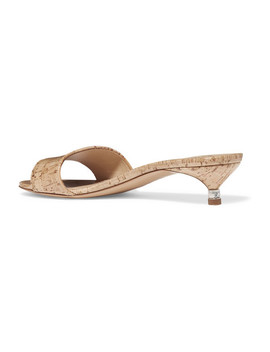 Garcia Coated Cork Mules by Gabriela Hearst