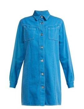 Kress Cotton Shirtdress by Ganni