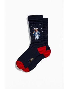 Polo Ralph Lauren Sea Captain Bear Sock by Polo Ralph Lauren