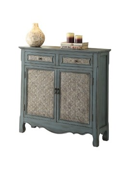Console Table Antique Blue by Acme Furniture