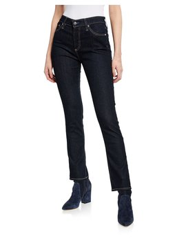 Mari High Rise Straight Jeans by Ag Adriano Goldschmied