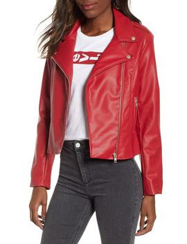 Beverly Thrills Faux Leather Jacket by Bb Dakota