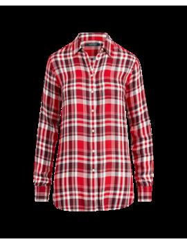 Plaid Twill Button Down Shirt by Ralph Lauren
