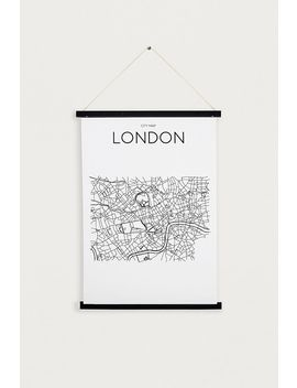 Black Magnetic Wooden Dowel A3 Poster Frame by Urban Outfitters