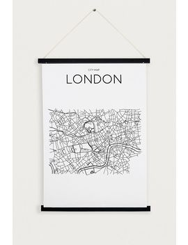 Black Magnetic Wooden Dowel A1 Poster Frame by Urban Outfitters