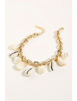 Av Max Shell Charm Anklet by Free People