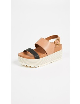 Jenna Platform Sandals by See By Chloe