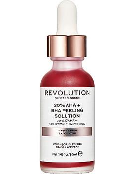 Online Only Skin Exfoliant Peel   30% Aha + Bha Peeling Solution by Revolution Skincare