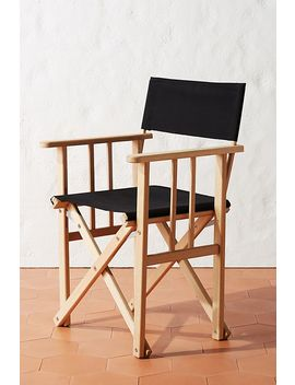 Lorna Director's Chair by Anthropologie