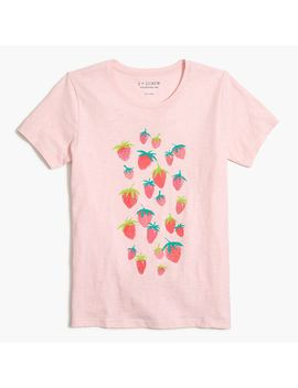 Strawberry T Shirt by J.Crew