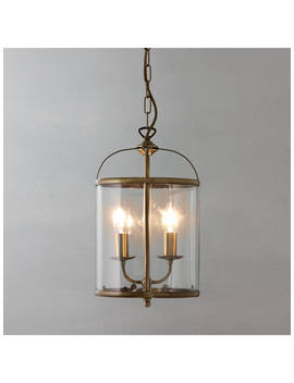 John Lewis & Partners Walker Lantern Ceiling Light by John Lewis & Partners
