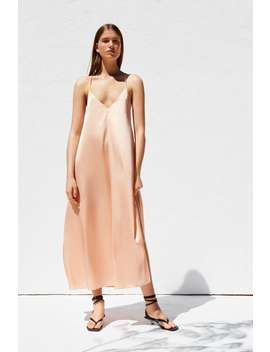 Sateen Dress  Must Haveswoman by Zara