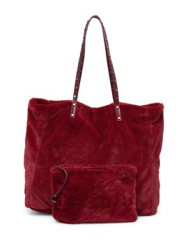 Eleanora Faux Fur Tote Bag by Sam Edelman