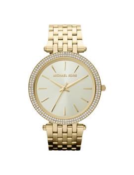 Michael Kors Mk3191 Women's Darci Diamante Bracelet Strap Watch, Gold by Michael Kors