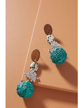 Tiana Drop Earrings by Serefina