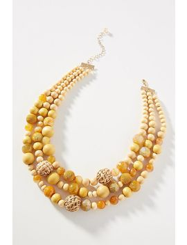 Bauble Bib Necklace by Anthropologie