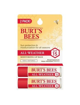 Burt's Bees Lip Balm   All Weather Spf 15   0.15oz/2pk by Burt's Bees