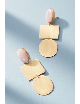 Franka Geo Drop Earrings by Zoja