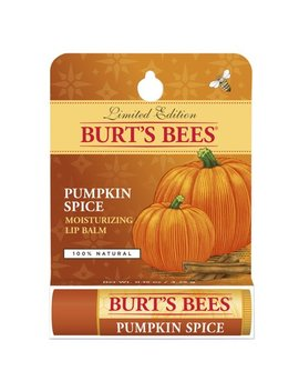 Burt's Bees 100 Percents Natural Moisturizing Lip Balm, Pumpkin Spice With Beeswax   1 Tube by Burt's Bees