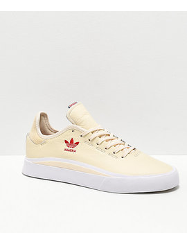 Adidas Najera Sabalo Cream, White &Amp; Red Shoes by Adidas