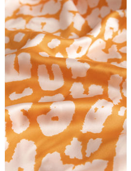 Leopard Print Satin Scarf by & Other Stories