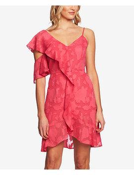Floral Print Cold Shoulder Dress by Ce Ce