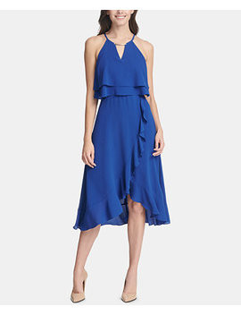 Ruffled Popover Dress by Kensie