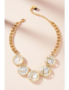 Ray Pearl Collar Necklace by Nocturne