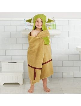 Yoda Hooded Bath Wrap by Disney