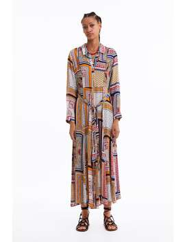 Dotted Mesh Print Dress  View All Dresses Woman by Zara