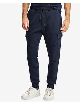 """Men's Double Knit 27.25"""" Cargo Jogger Pants by Polo Ralph Lauren"""