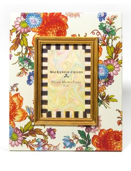 "Flower Market Picture Frame, 4"" X 6"" by Mac Kenzie Childs"