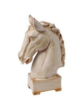 A&B Home Ceramic Horse Head Statue by Bed Bath And Beyond