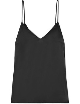 The Arlo Tie Back Silk Satin Camisole by Cami Nyc