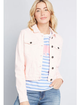 Inspirational Spark Denim Jacket by Modcloth