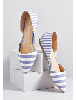 Chic Your Mind D'orsay Flat by Modcloth