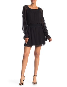 Poet Woven Dress by Bebe
