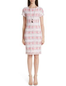 Becca Knit Short Sleeve Dress by St. John Collection