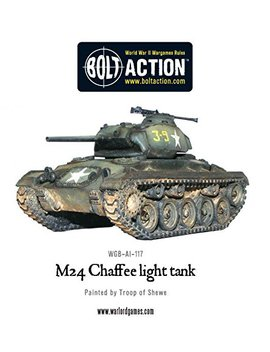 M24 Chaffee Us Light Tank Miniature by Warlord Games