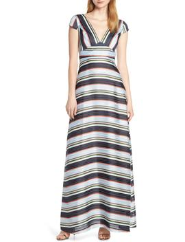 Tadilta Stripe Maxi Dress by Foxiedox