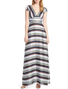 Tadilta Stripe Maxi Dress by Foxiedox