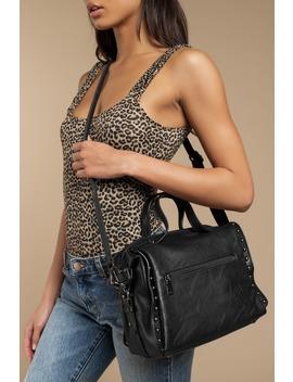 Cecilia Black Cross Body Bag by Tobi