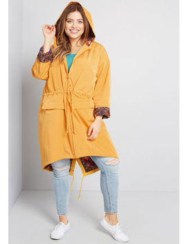 Rightful Brightness Raincoat by Modcloth